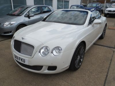 Bentley Continental GTC 6.0 W12 Speed 2dr Auto Convertible Petrol WhiteBentley Continental GTC 6.0 W12 Speed 2dr Auto Convertible Petrol White at Tollbar Motors Grimsby