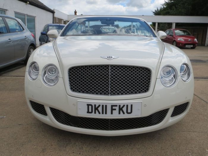 Bentley Continental GTC 6.0 W12 Speed 2dr Auto Convertible Petrol White